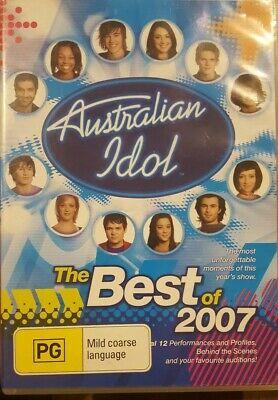 AUSTRALIAN IDOL THE BEST OF 2007 RARE DVD MUSIC TV SERIES SHOW FINALS