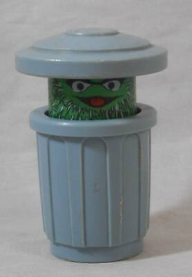 Vintage Fisher Price Sesame Street Little People Oscar the Grouch
