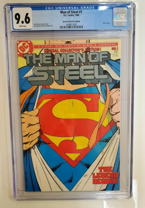 Man Of Steel #1 (1986) CGC 9.6 - Superman - Collector