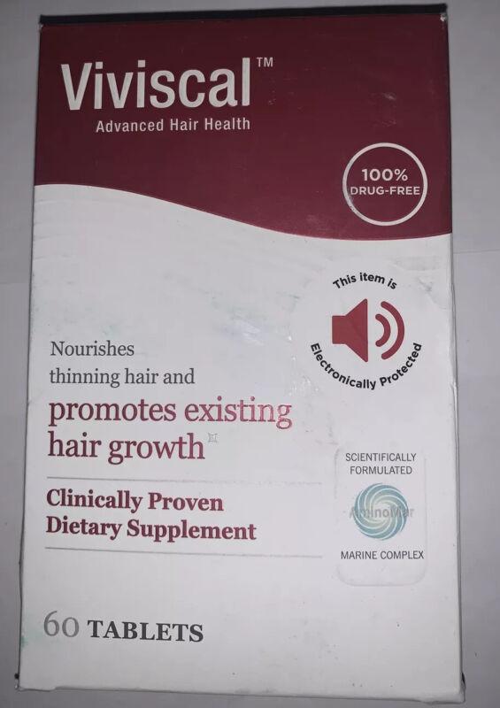 Viviscal Advanced Hair Growth Dietary Supplement, 60 Tablets 2023+