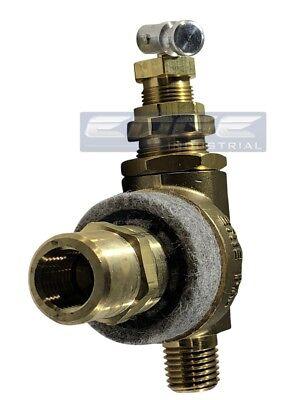 Air Compressor Pilot Unloader Discharge Valve W Muffler 125-150 Psi 14 Fnpt