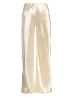The Row Gala Pant - Vanilla Satin