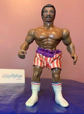 Vtg Apollo Creed Rocky Figure w/ Shorts Accessory Phoenix Toys Remco 80's 1983 - Apollo Creed Shorts