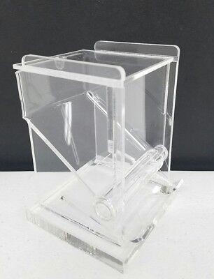 (Carlisle TP10007 Restaurant Style Clear Plastic Toothpick Dispenser New)