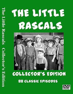 Little Rascals Collectors Edition - 88 Complete Uncut / Unedited Episodes