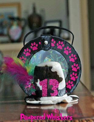 Birthday Hat for cat - dog - Mad Hatter Birthday Hat (hat - Catdog Costume For Dog