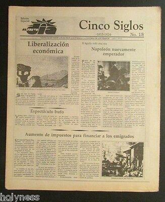 El Nuevo Dia    Vintage Newspaper   Cinco Siglos De Historia   13   Puerto Rico