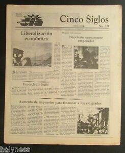 PUERTO RICO SIGLOS CINCO HISTORIA DE