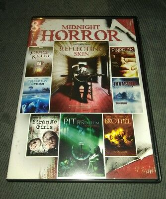 8-Film Midnight Horror Collection *HORROR *HALLOWEEN