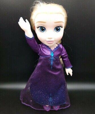 Disney Frozen 2 Elsa Musical Doll Sings Into the Unknown Music Phrases w/Batt