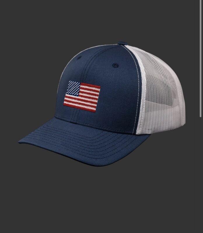 Scotty Cameron USA Patriot Flag Mesh SnapBack Navy / White Hat
