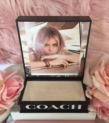 Coach Fragrance Store Advertising Display Counter Top Model Chloe Grace Moretz