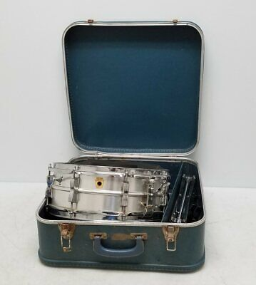 Ludwig Acrolite Snare Drum Mid 60s Keystone 542779, Stand, Case - $212.50