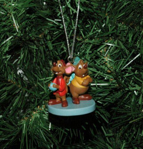 Jaq and Gus Cinderella Christmas Ornament