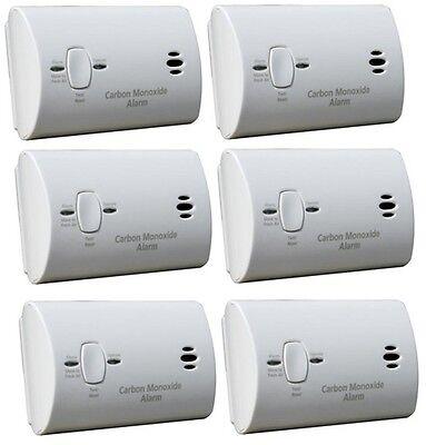 Kidde Carbon Monoxide Alarm, 9V Battery Powered Bulk Packagi