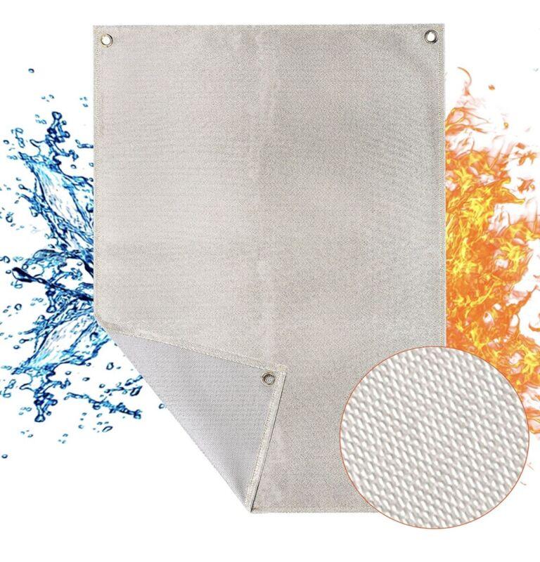 Heavy Duty Welding Blanket, 24 x 31.2 inches Fiberglass Fire Blanket