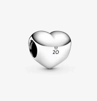 Pandora 2020 Limited Edition 20th Anniversary April Heart Charm Heart Limited Edition