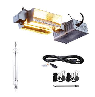 Hydroponic 1000W Watt DE HPS Grow Light Fixture Kit 120V Plug Indoor Plant Grow
