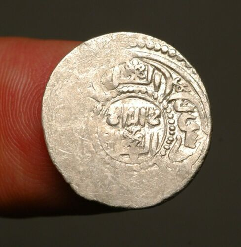 IS64-02   Artuqids of Mardin,   al-Salih Salih I,  712-765AH.    silver akçe