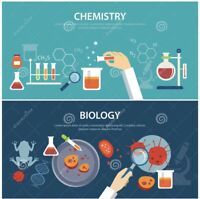 Looking for a Biology or Chemistry Tutor?