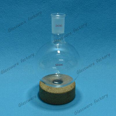 500ml2440 One-neck Round Bottom Flask1-neck Boilling Bottlelab Glassware