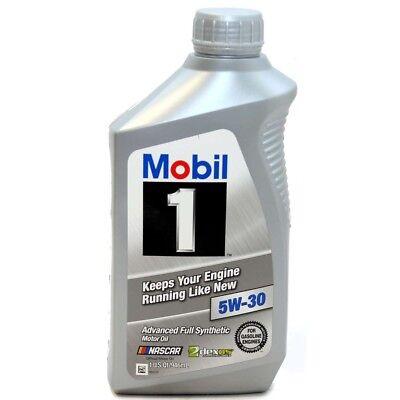 Mobil 1 5W30 5W-30 Advanced Full Synthetic Engine Oil 12345885 GM Ford Honda USA comprar usado  Enviando para Brazil