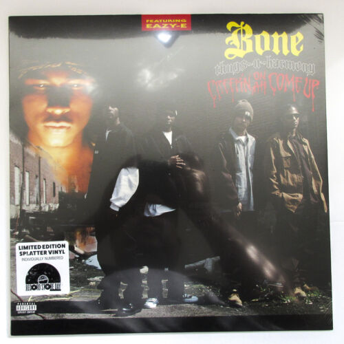 Bone Thugs N Harmony Creepin On Ah Come Up Splatter Vinyl LP #333/4000 RSD 2020