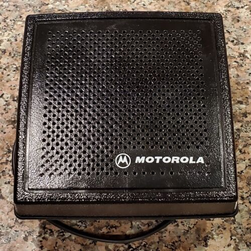 Used Motorola HSN4031B Internal External Speaker w/ Thumb Screws & FreeShipping