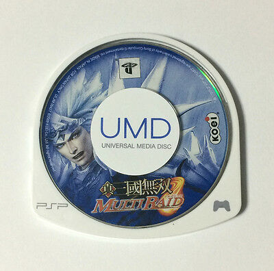 USED PSP Disc Only Shin Sangoku Musou Multi Raid JAPAN Japanese Dynasty Warriors