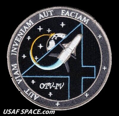 OTV 4 - X-37B ORBITAL TEST VEHICLE - VAFB 30SW USAF DOD SPACE PLANE Launch PATCH - Launch 4 Piece