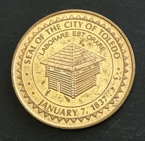 Toledo Ohio Token Good Luck From Mayor OH