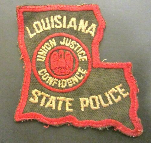 Rare- Vintage Patch Louisiana State Police Over 50 Years Old- Obsolete