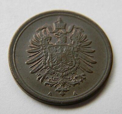 KAISERREICH: 1 Pfennig 1876 A, J. 1, fast stempelglanz !!!!