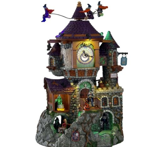 Lemax Spooky Town 2021 The Witching Hour #15724 BNIB