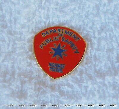 TEXAS HIGHWAY PATROL DEPARTMENT of PUBLIC SAFETY Patch Lapel Pin Police Trooper