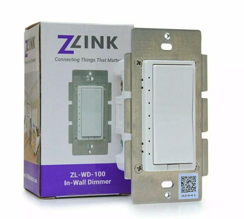 Zlink Z-Wave Plus, S2, SmartStart, In-Wall Dimmer - ZL-WD-100