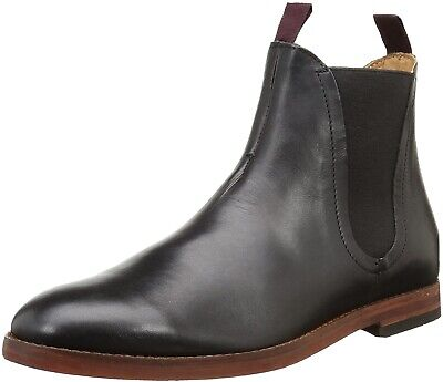 Mens Hudson Tamper Leather Chelsea Boots Size 9 Excellent Condition