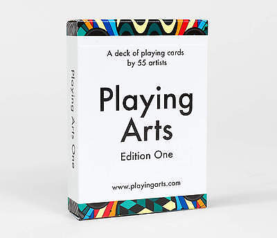 - Playing Arts Edition 1 Deck Playing Cards Poker Size USPCC Custom Limited Sealed