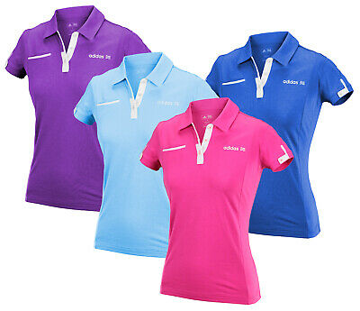 Adidas Women's Front Pocket Polo Shirt, Color Options