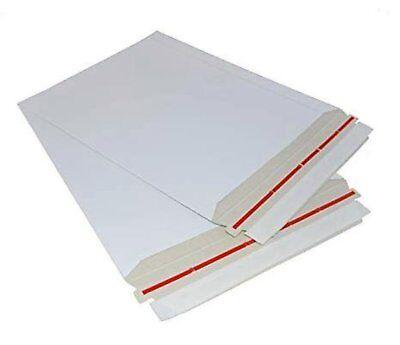1-200 Mailers 12.75x15 Rigid Photo Cardboard Self Sealing Envelopes 12.75 X 15