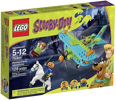 Lego Scooby-Doo Mystery Plane Adventures (75901) Build Kit-Discontinued