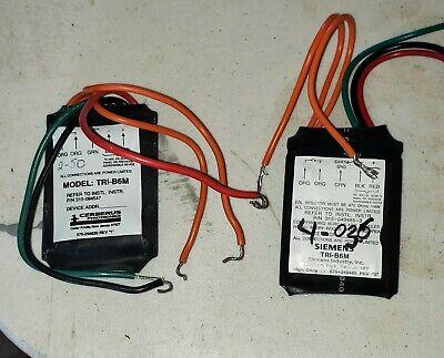 Used Siemens Tri-b6m Mxl Addressable Module Fire Alarm