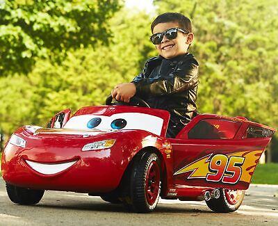 Disney Pixar Cars 3 Lightning McQueen 6V Battery-Powered Ride On Power