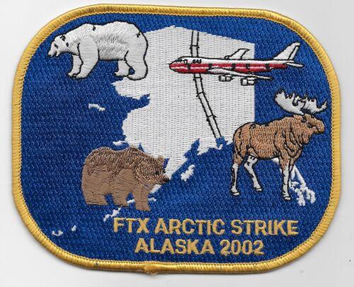 FBI FTX Artic Strike Police Sheriff State Alaska AK Scenic patch