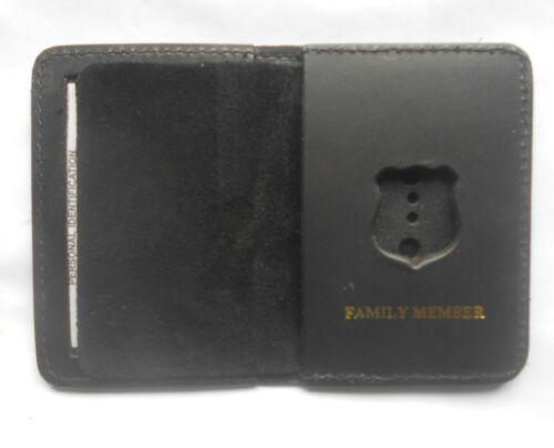NYC Style Patrolman Mini Shield Bi Fold Wallet Only Family Member 3 Pack Sale