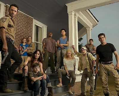 THE WALKING DEAD CAST 8X10 GLOSSY PHOTO PICTURE IMAGE #2