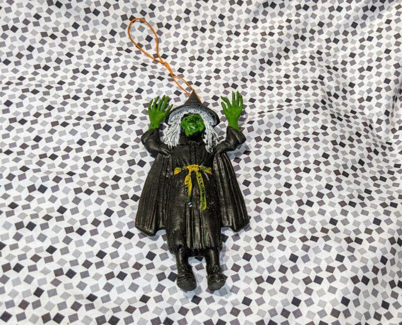 Vintage Ben Cooper 1975 Halloween Witch Rubber Jiggler