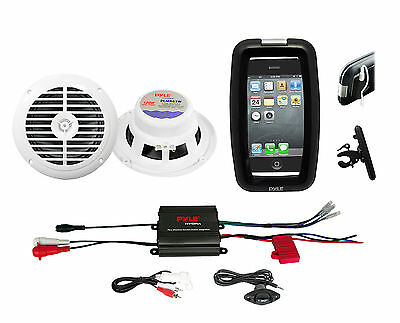 "Pyle Bike Bicycle ATV Marine Amplifier 400W iPod Input, 6.5"""