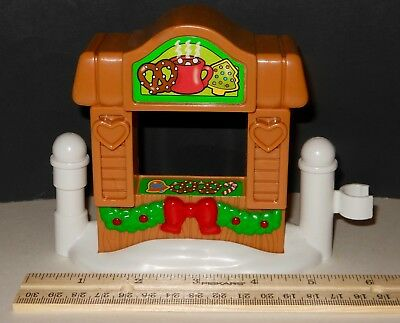 Replacement Fisher Price Christmas Chocolate Stand ~Tree Lighting Discovery Park ()