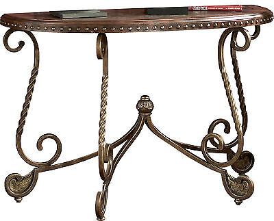 Ashley Furniture Sofa Table Rafferty Dark Brown  T382 4 New